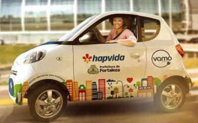 Fortaleza terá mais 7 estações de car-sharing em 2017