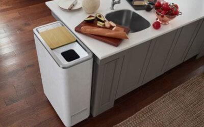 Composteira elétrica promete transformar resíduos de cozinha em adubo em 24 horas