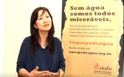 Record News: Instituto Akatu fala sobre consumo consciente da água em época de crise