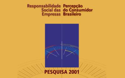 RSE: Percepção e Tendências do Consumidor 2001