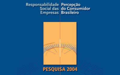 RSE: Percepção e Tendências do Consumidor 2004