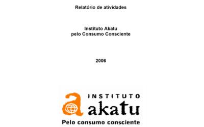 Relatório de Atividades 2006