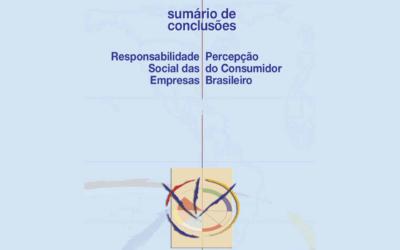 Sumário de Conclusões Pesquisa 2010: O Consumidor Brasileiro e a Sustentabilidade