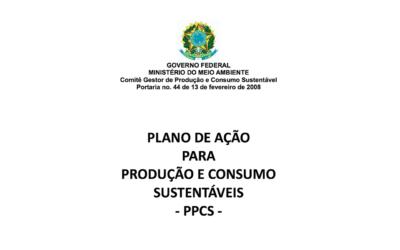 Plano de Ação para Produção e Consumo Sustentáveis