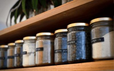 Como conservar os temperos na cozinha