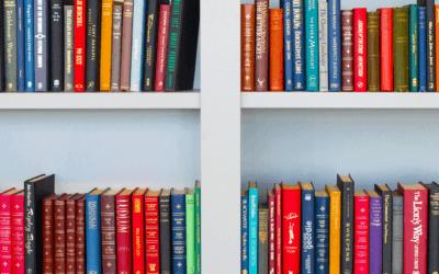 Como organizar os seus livros em casa