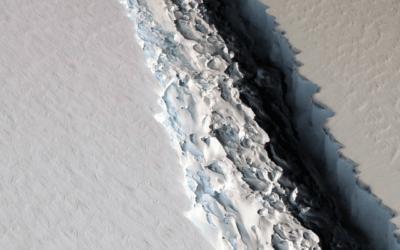 O que o consumo consciente tem a ver com o iceberg na Antártida