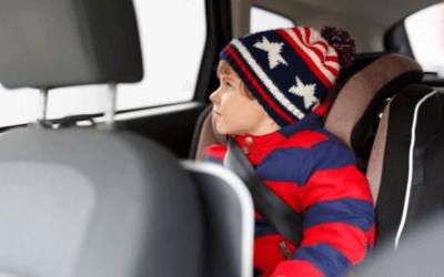Poluição dentro dos carros ameaça a saúde das crianças