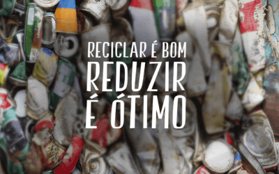 Reciclar é bom, mas reduzir o volume de resíduos é ainda melhor