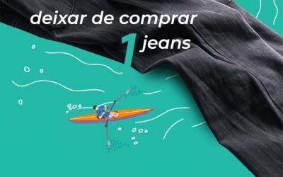 Pense bem antes de comprar um jeans novo