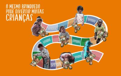No Dia das Crianças, que tal organizar  uma feira de troca de brinquedos?