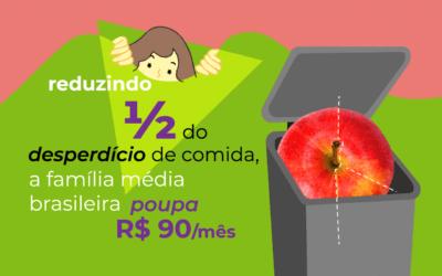 Reduza o desperdício de alimentos em casa e economize R$ 1 milhão