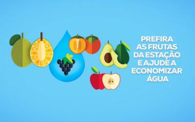Dê preferência a frutas da estação e ajude a economizar água