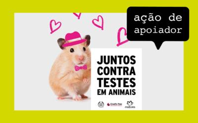 Campanha pede o fim dos testes de cosméticos em animais
