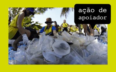 Mutirões de limpeza em praias chamam atenção para o problema dos resíduos nos oceanos