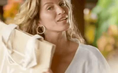 Gisele Bündchen desafia marcas e personalidades a acabarem com poluição plástica