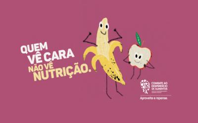 Campanha conscientiza população brasileira sobre o desperdício de alimentos