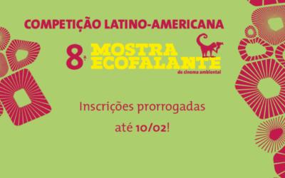 8ª Mostra Ecofalante: inscrições prorrogadas