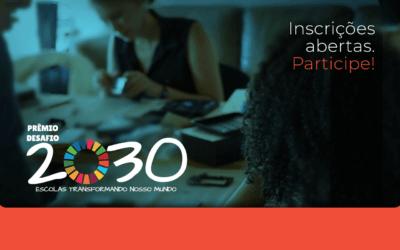 Prêmio Desafio 2030: inscrições abertas para edição 2019