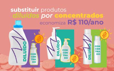 Opte por produtos concentrados e economize!