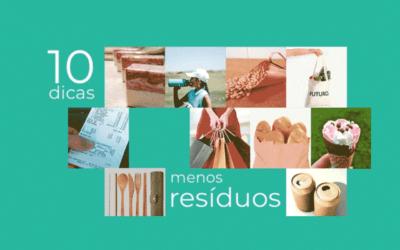 10 dicas para reduzir sua produção de lixo fora de casa