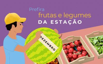 Faça uma ceia com frutas da estação