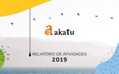 Akatu publica Relatório de Atividades 2019