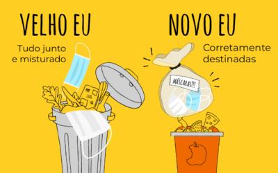 No Dia da Limpeza Urbana, aprenda a descartar as máscaras corretamente