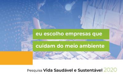 Confira os resultados públicos da pesquisa Vida Saudável e Sustentável 2020
