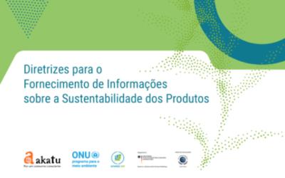 Diretrizes para o fornecimento de informações sobre a sustentabilidade dos produtos