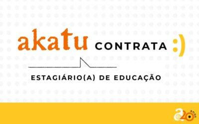 Vaga no Akatu: Estagiário(a) de Educação