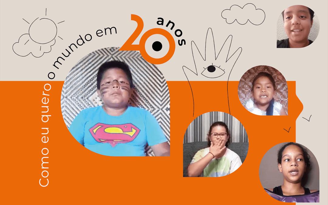 """""""Como eu quero o mundo"""": um olhar das crianças para o nosso futuro"""