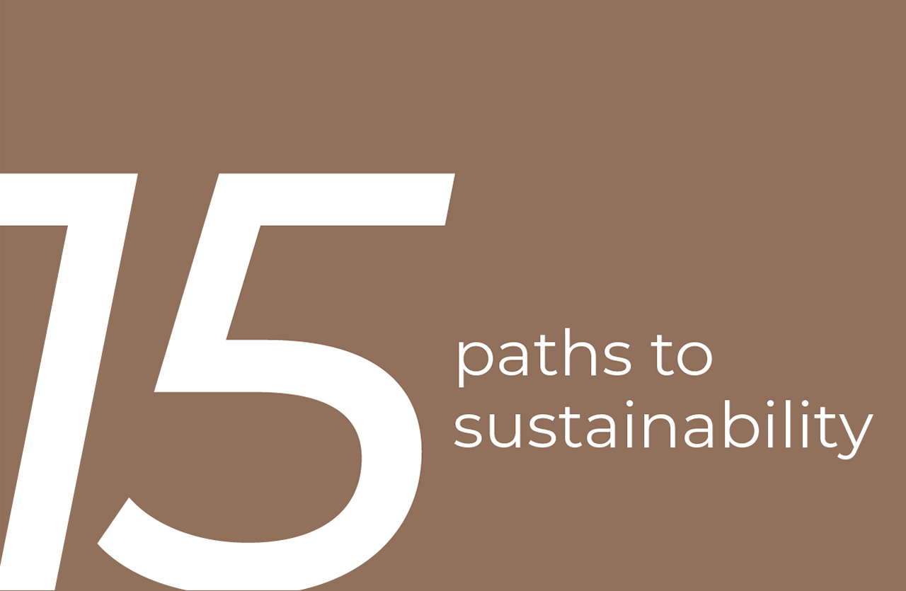 15 paths to systainability