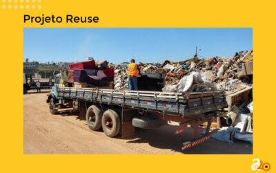 Projeto inovador do Akatu promove a gestão de resíduos como colchões e sofás em Hortolândia (SP)